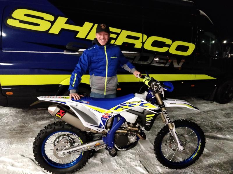 Sherco Sweden satsar på racing