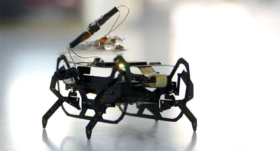 Mikrorobotar kan bli framtidens bilmekaniker