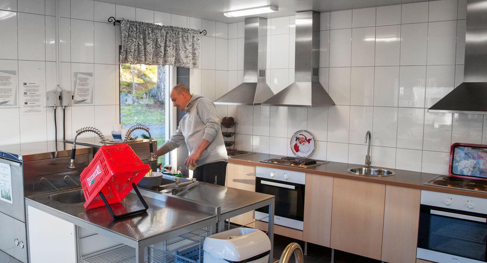 Restaurangdiskmaskiner förkortar disktiden.