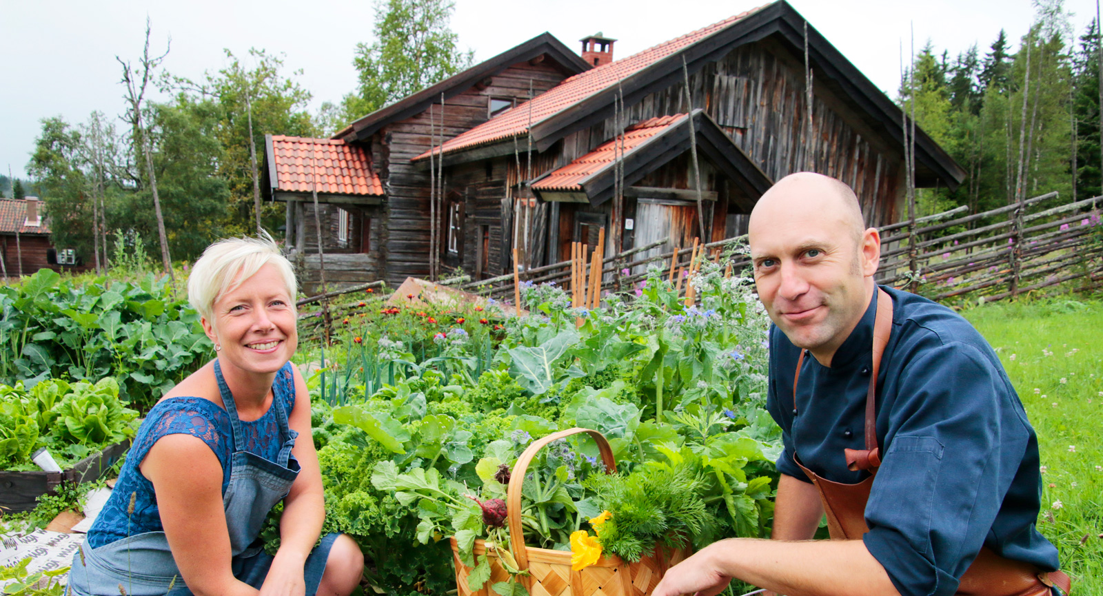 """I Fryksås är det """"härodlat"""" som gäller för Anna och Samuel.  Restaurang Lissäng finns dessutom med i White Guide."""