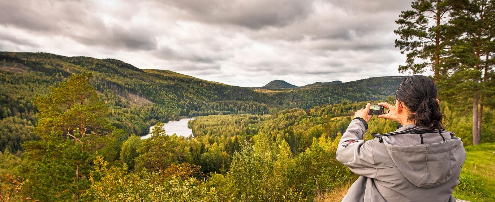 Att tillåta sig många pauser och promenader från sitt fritidsfordon är halva nöjet med en naturresa.