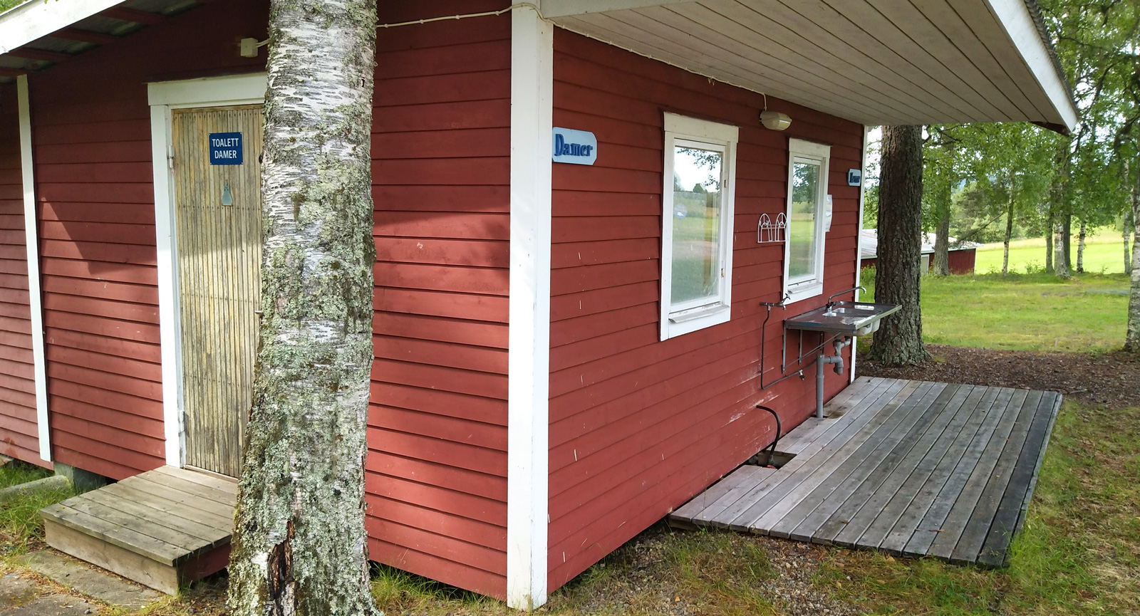 Aborrtjärn – Rofylld camping vid badsjö i Västerbotten