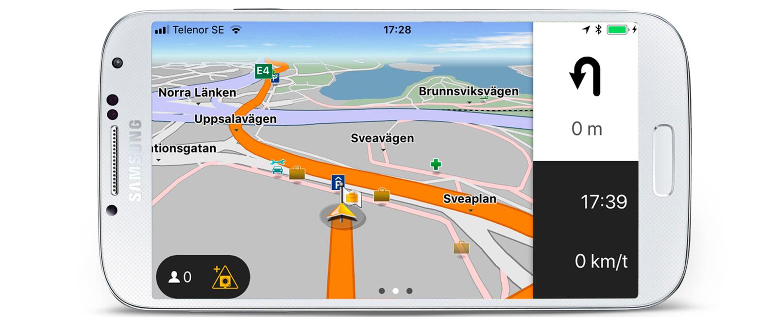 Test: GPS-appar och mobilhållare