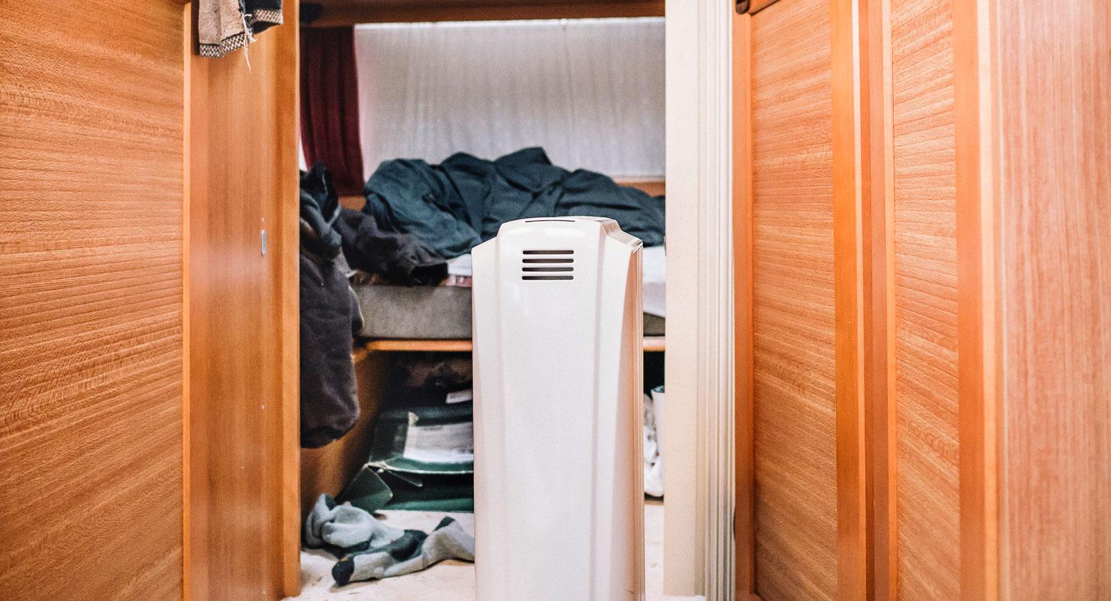 Omstridd. Värmaren som Christian har hos sig, med motiveringen att sladden är för kort för att kunna kopplas in hos Max.