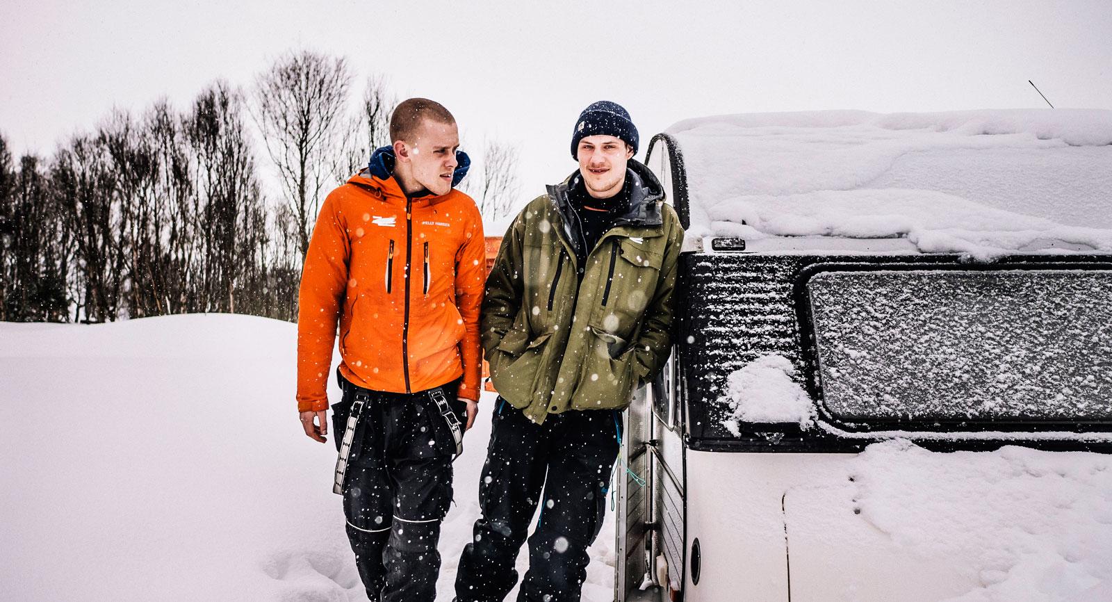 Max Knapek och Christian Vaabengaard.