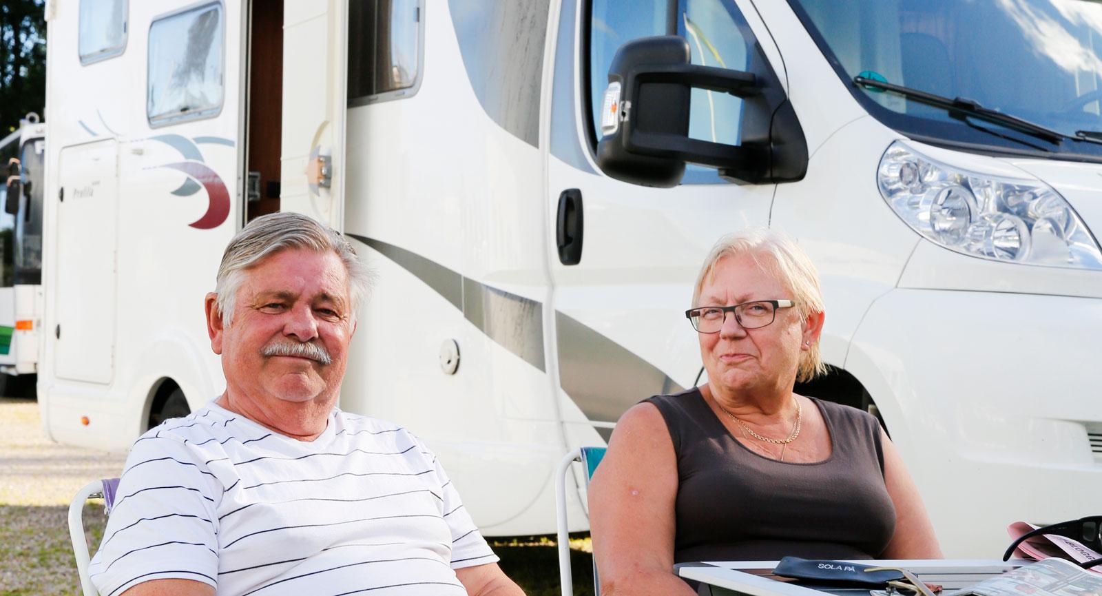 George och Kerstin Ivanov från skånska Löddeköpinge lockades till Dalsland.