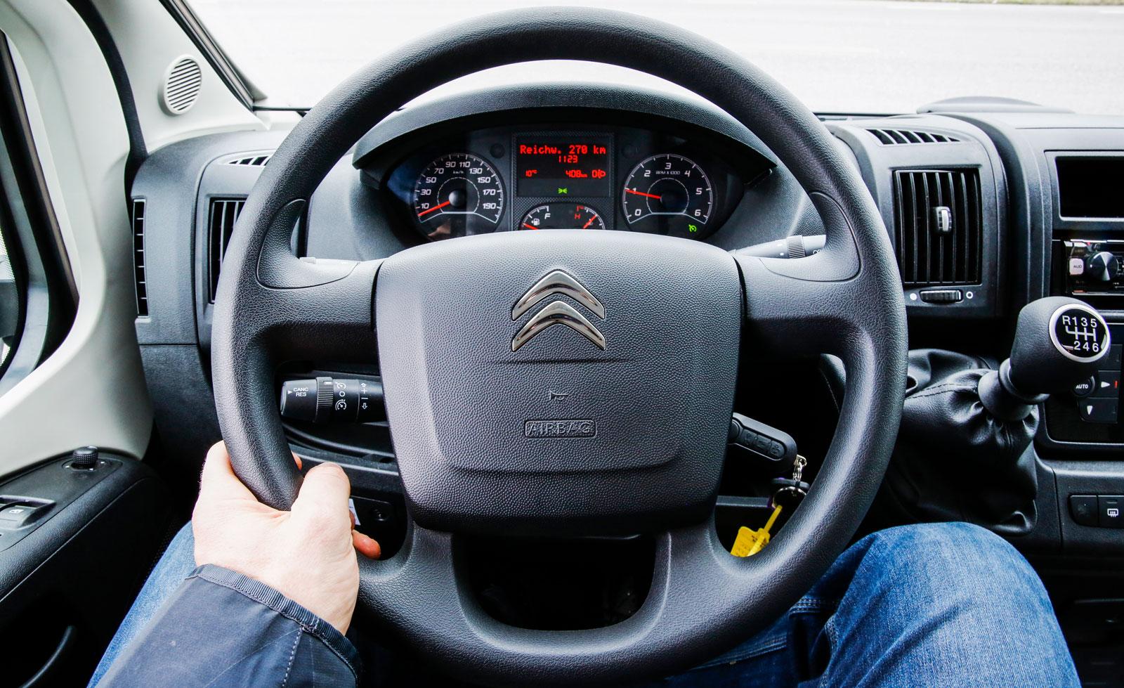 Enkel och bekväm körkomfort.