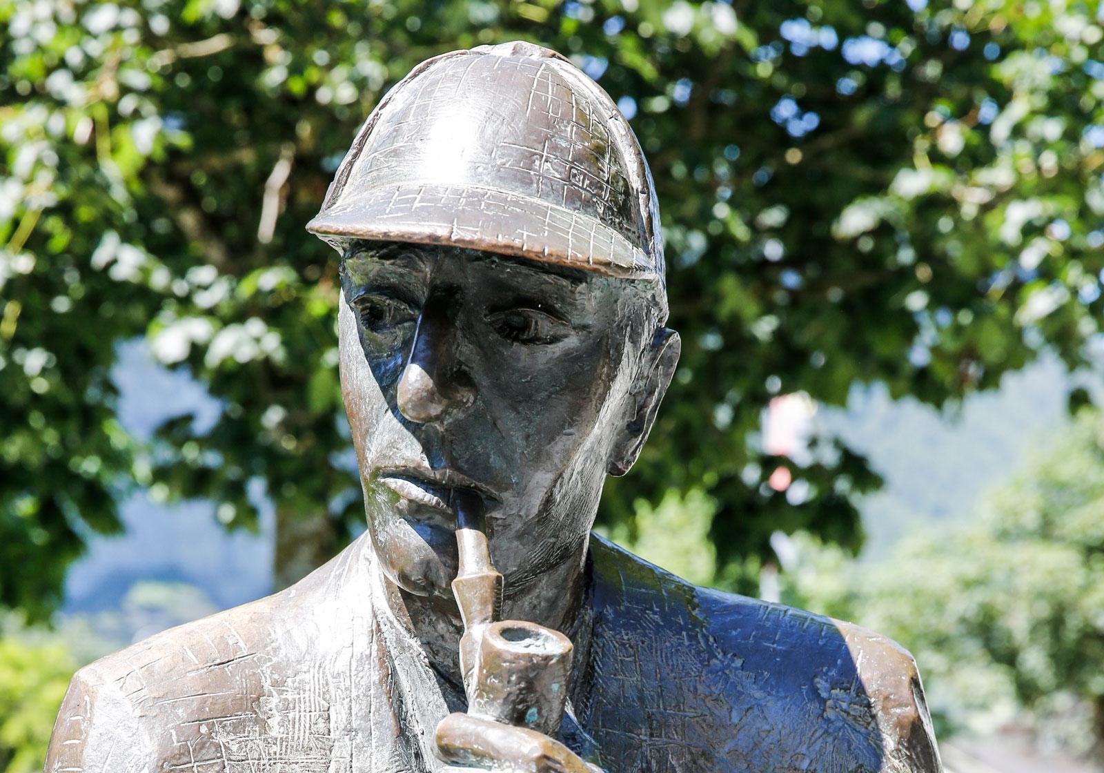 Sherlock Holmes muséet är en favorit hos alla deckarfantaster.