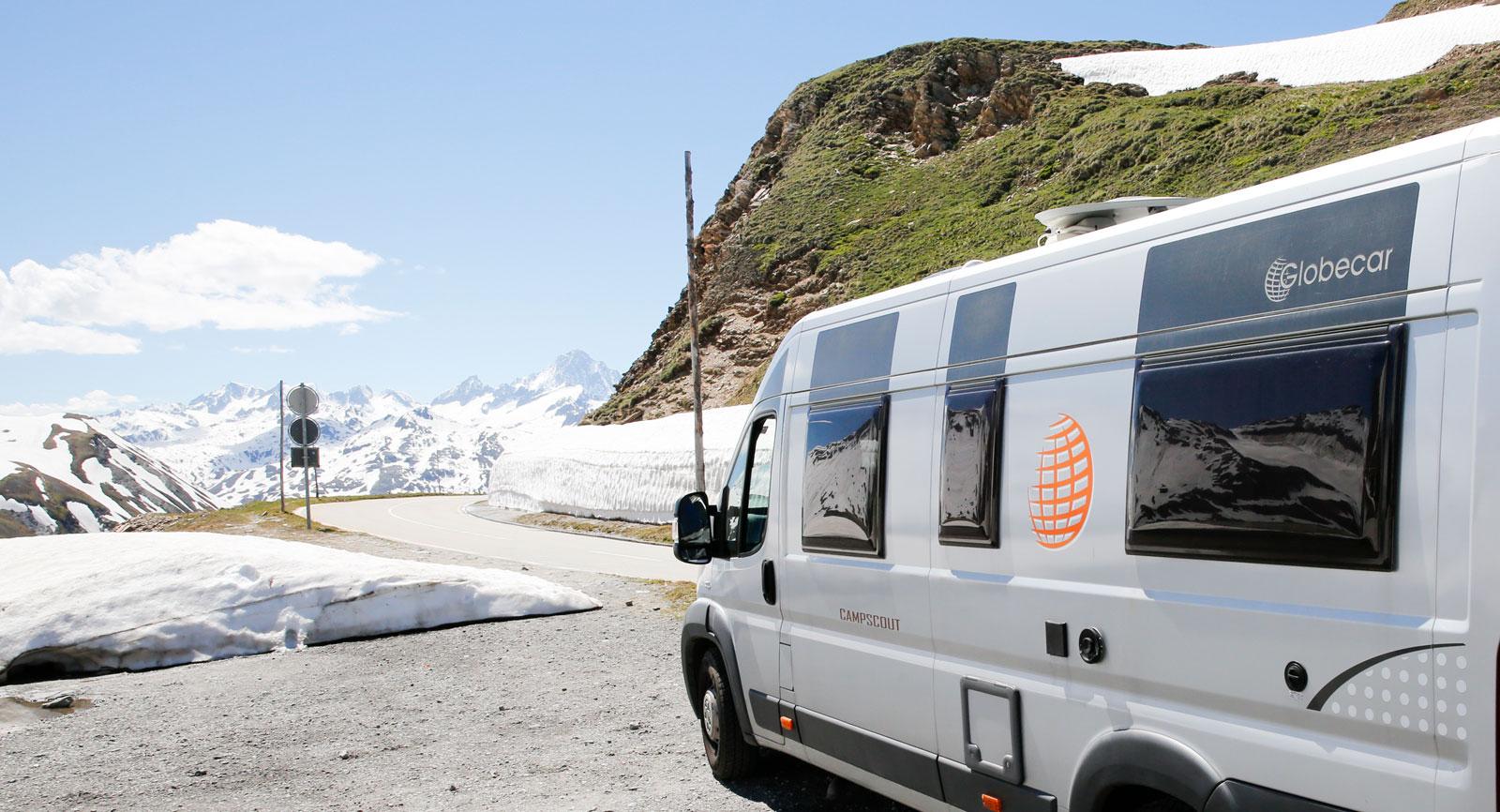 Från Bodensjön är det bara någon timmes bilresa upp i alperna.