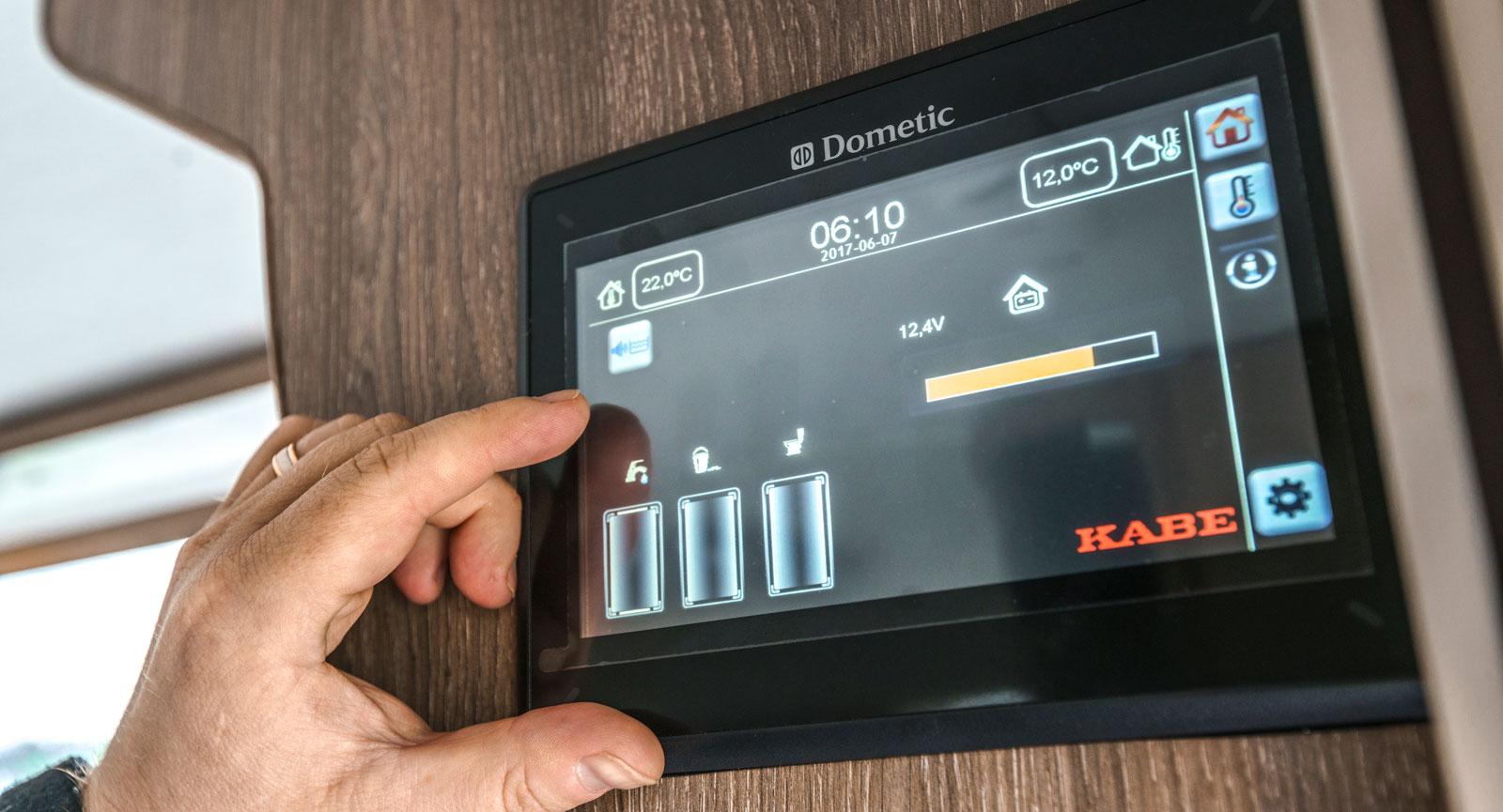 Smart D heter Kabes nya manöverpanel som styr det mesta.