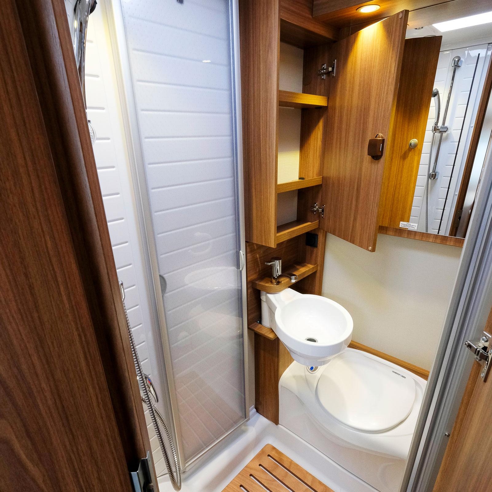Badrummet är flexibelt och går att anpassa efter behov.