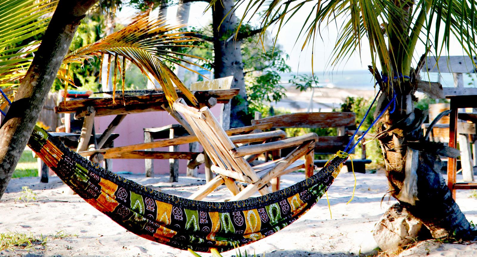 Lata dagar på Baobab Beach Resort  i Vilankulos,  Moçambique.