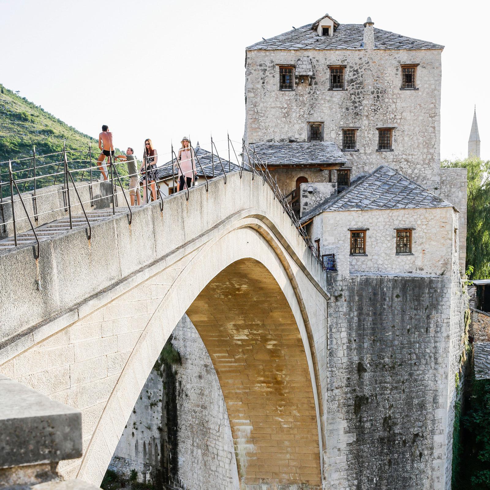 Stari Most, en av världens mest igenkända broar.