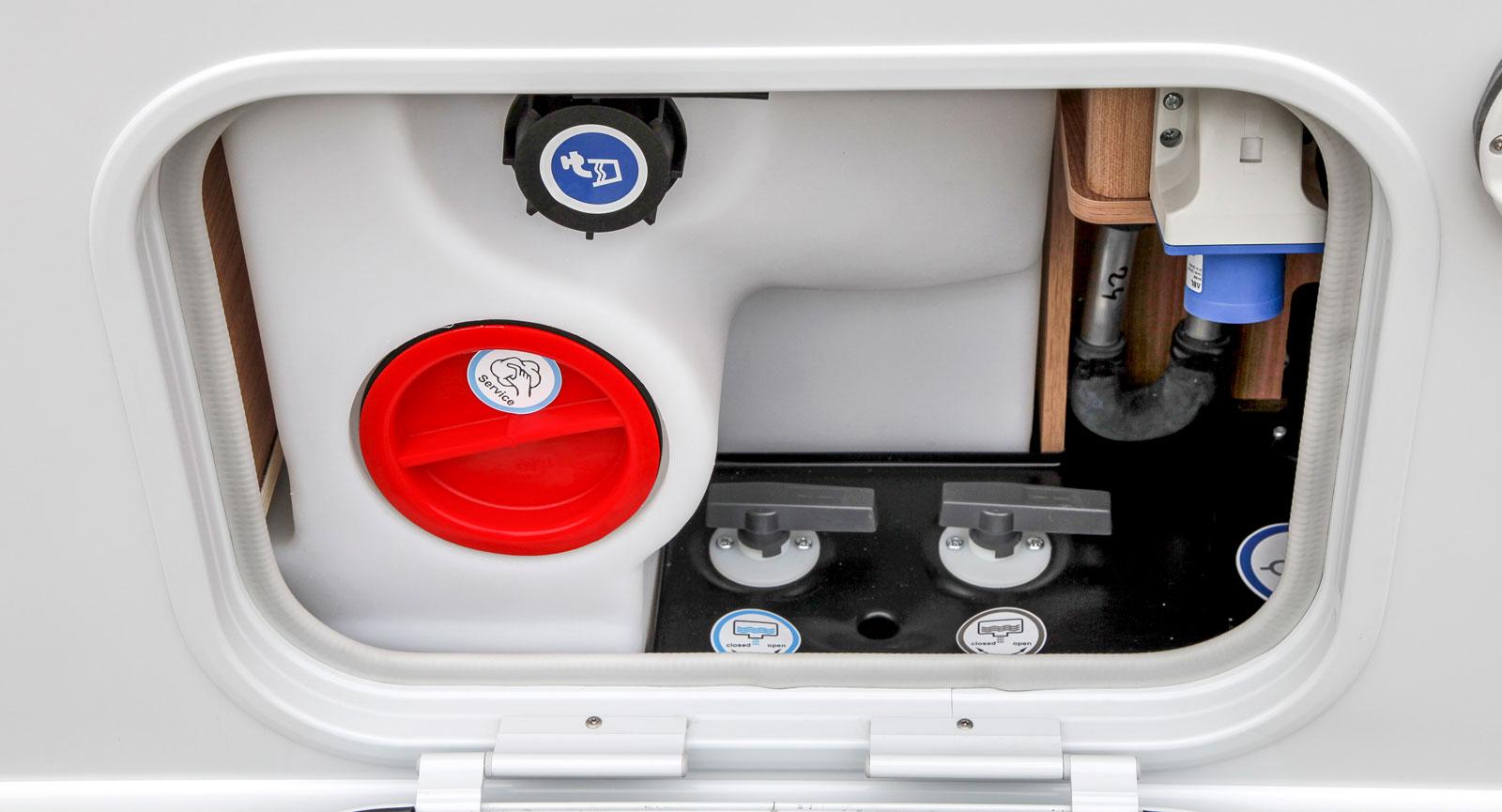 Den smarta serviceboxen där alla nödvändiga funktioner finns samlade.