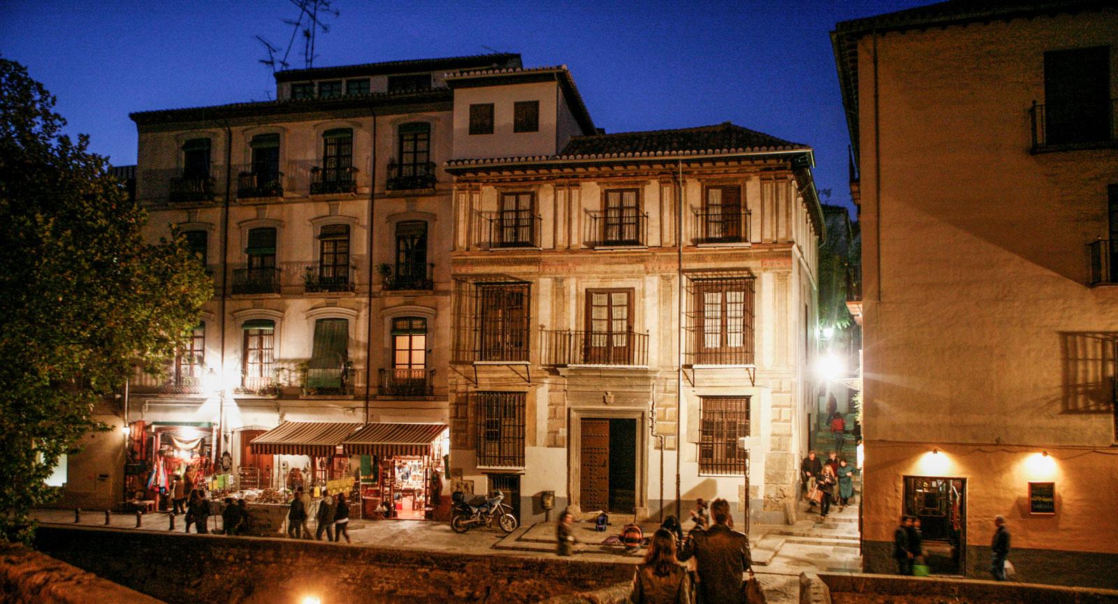 Härliga kvällar i Granada.