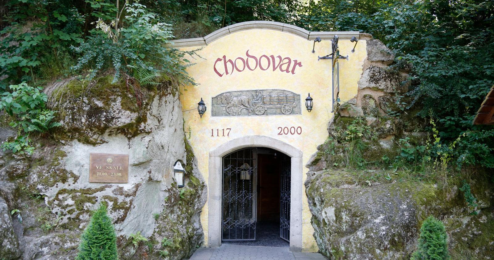 Chodovar är ett känt lokalt öl som länge bryggdes i det svala berget.