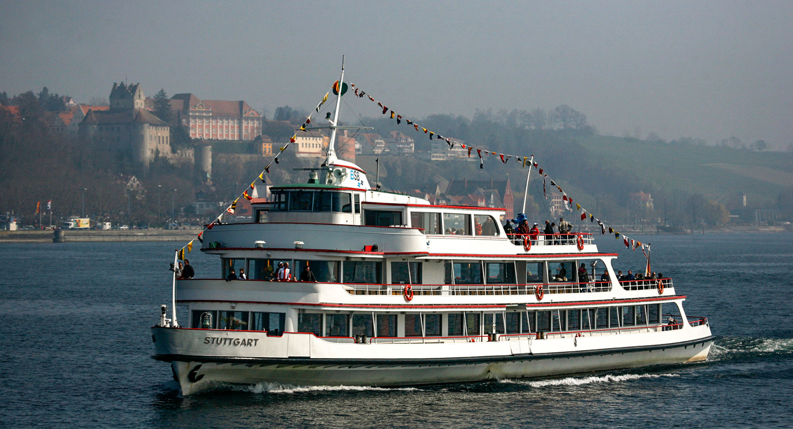 Det finns gott om allmänna båtturer att välja på i Bodensjön.