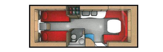 Begagnad Cabby 650 L - Svenskvagn med långbädd