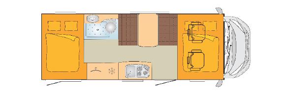 Bürstner Lyseo A700G – För den aktiva barnfamiljen