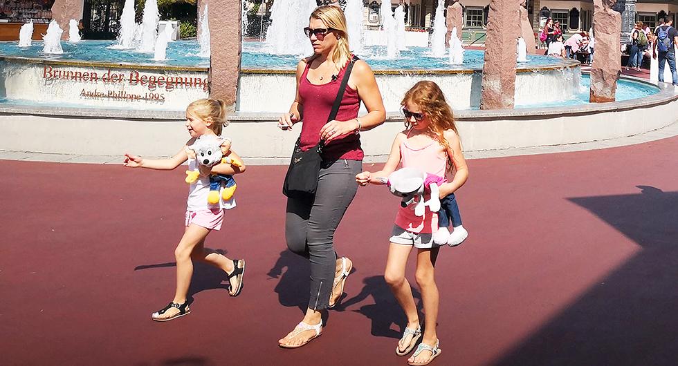 Europa Park är kul för barnfamiljer, men även för vuxna familjer!