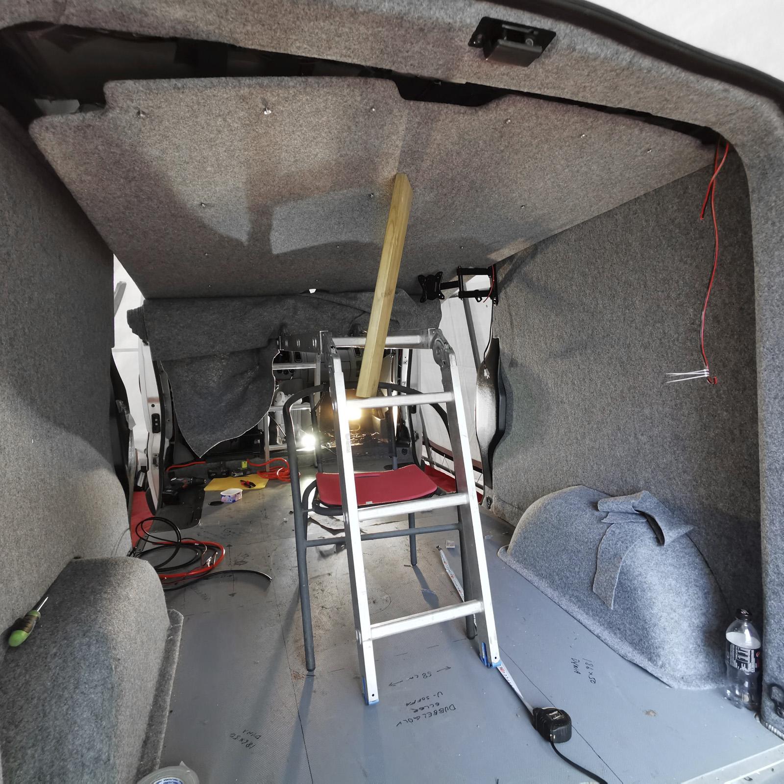 Att bygga campervan: Del 2