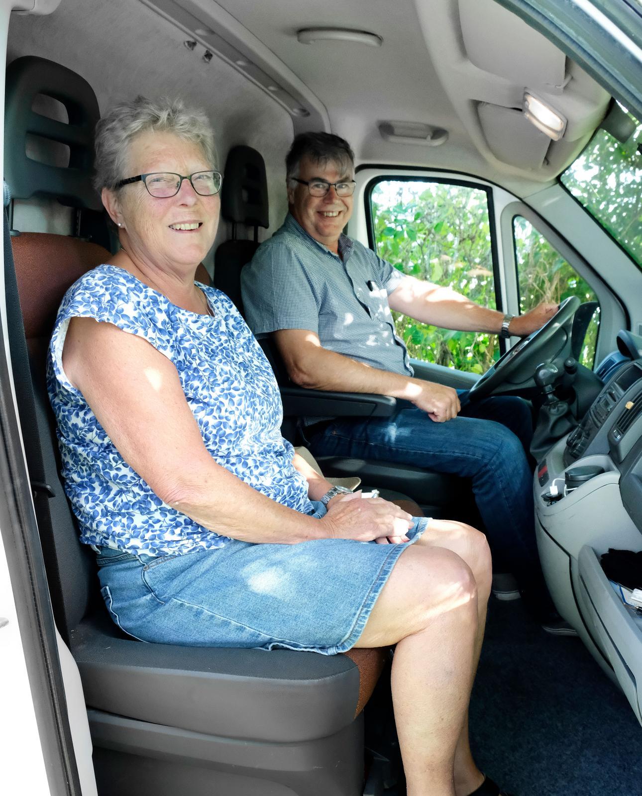 Lotten och Kjell ser fram emot många fler resor i en husbil som är optimal för just dem. Kanske dyker de upp på Burning Van 2020?