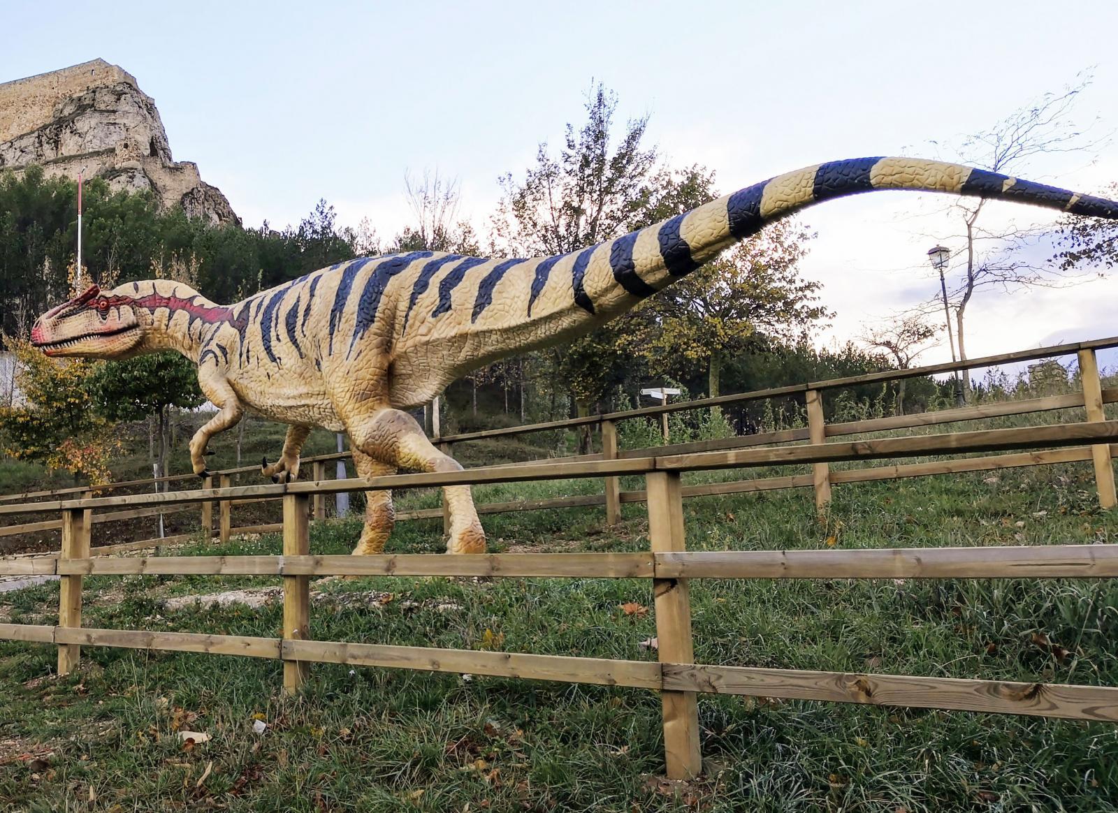 Arkeologer har hittat flera fynd och lämningar från dinosaurer i och runt Morella. Därför finns här ett museum med utställning i ämnet.