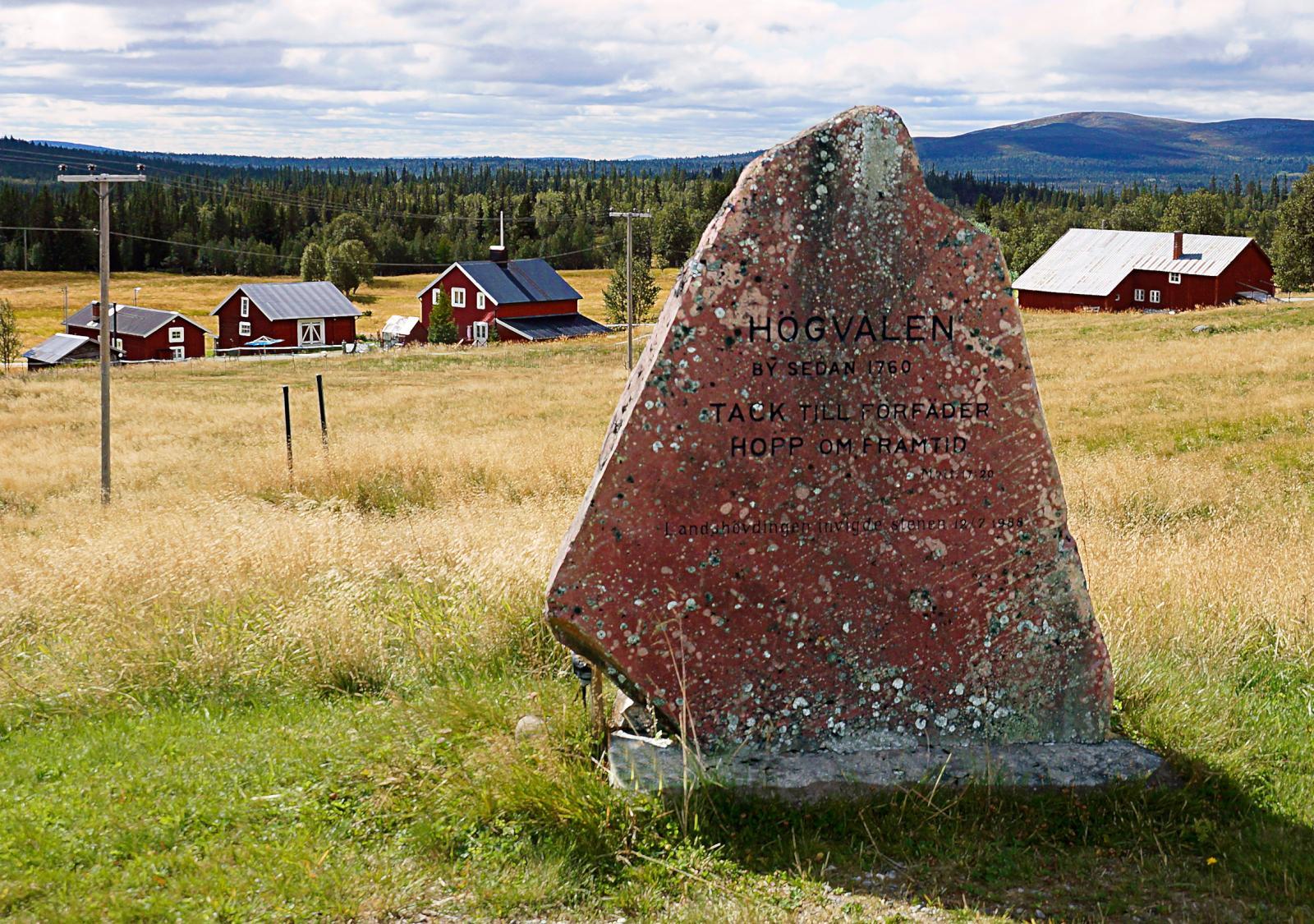 På gränsen mellan Härjedalen och Västerdalarna ligger Högvålen ensligt beläget.