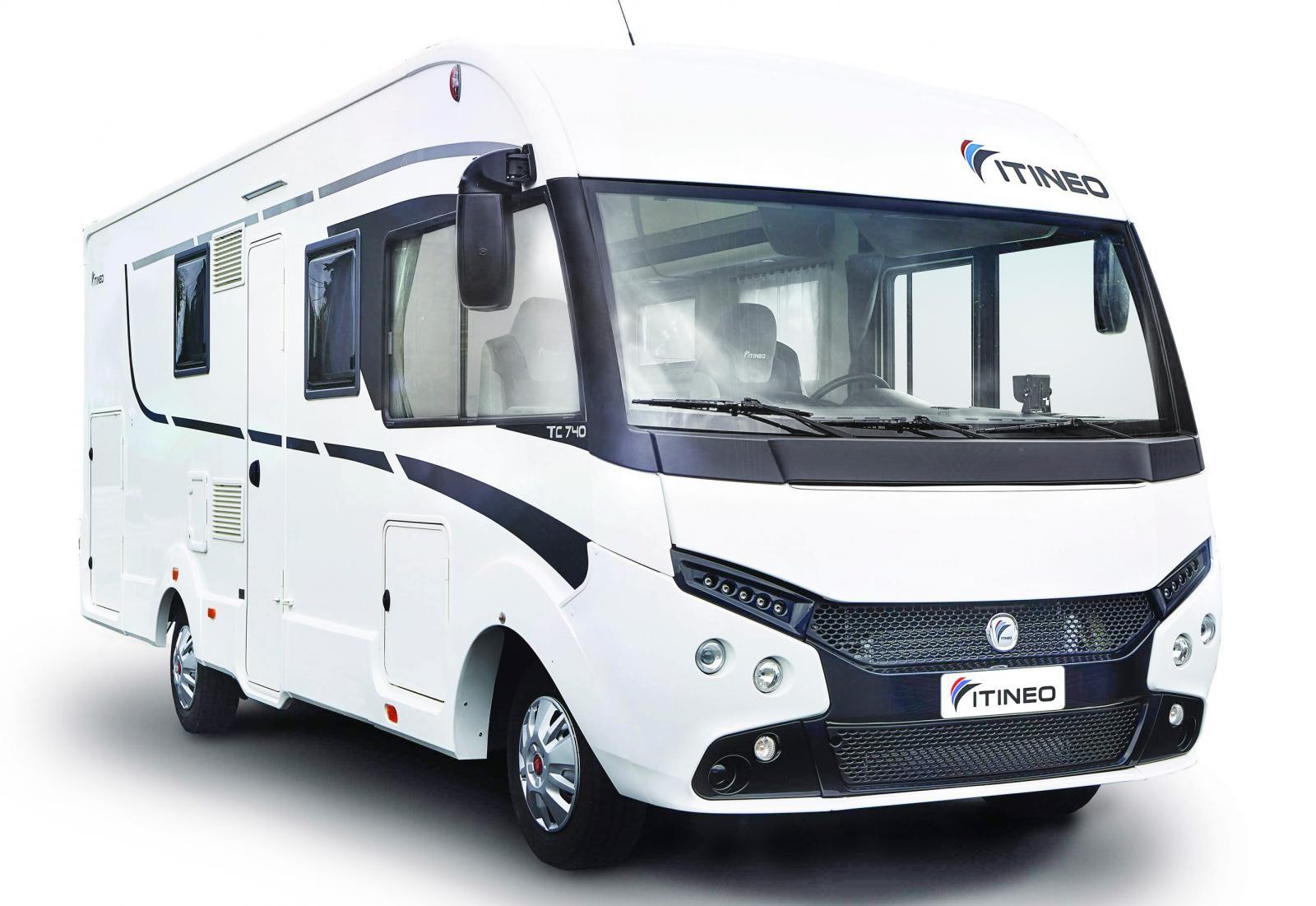Provkörd: Itineo TC 740