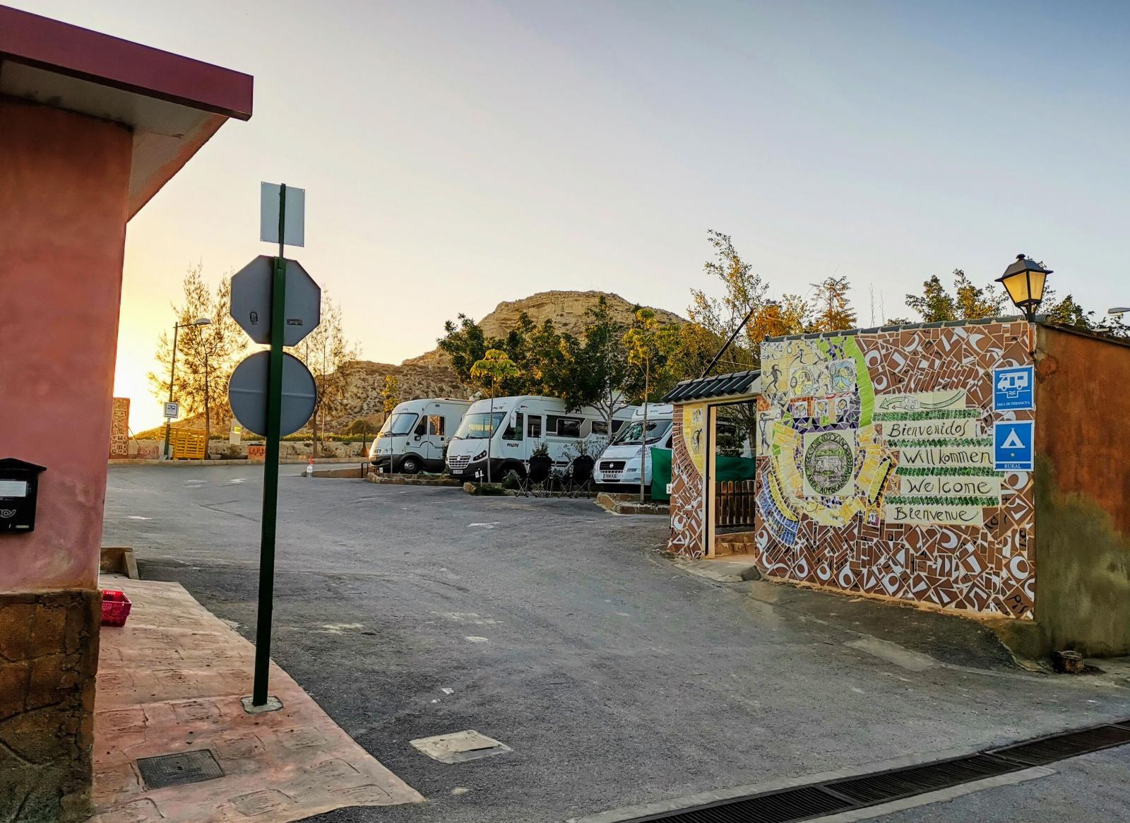 Resort Indalo har 200 platser både på asfalt och grus.