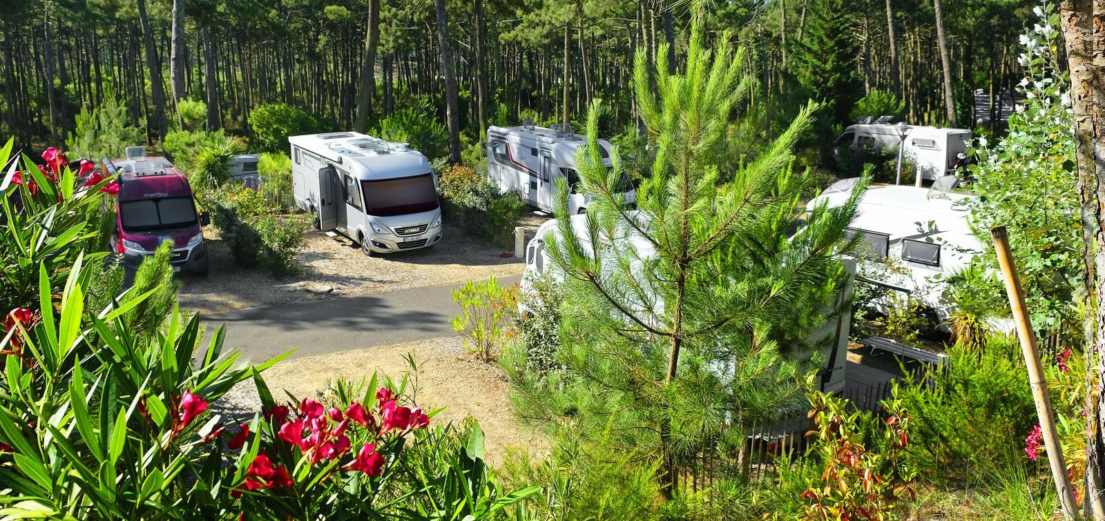 Med husbil kan du välja mellan att stanna till på campingar med full service eller på en enklare rastplats invid en sjö.