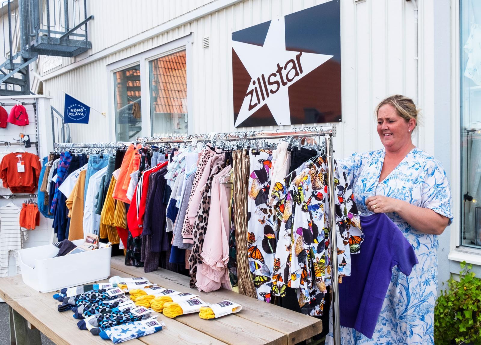 Många tycker att shopping  är en av Hönö Klåvas höjdpunkter.