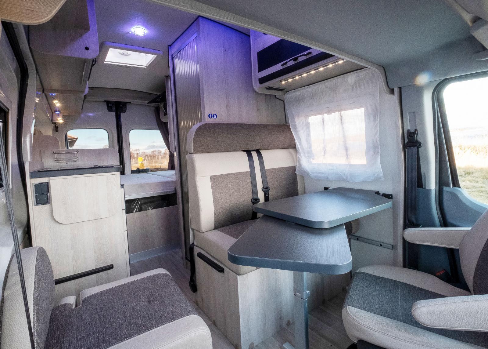Ett kompakt hem som även är ett alternativ till en vanlig bil.