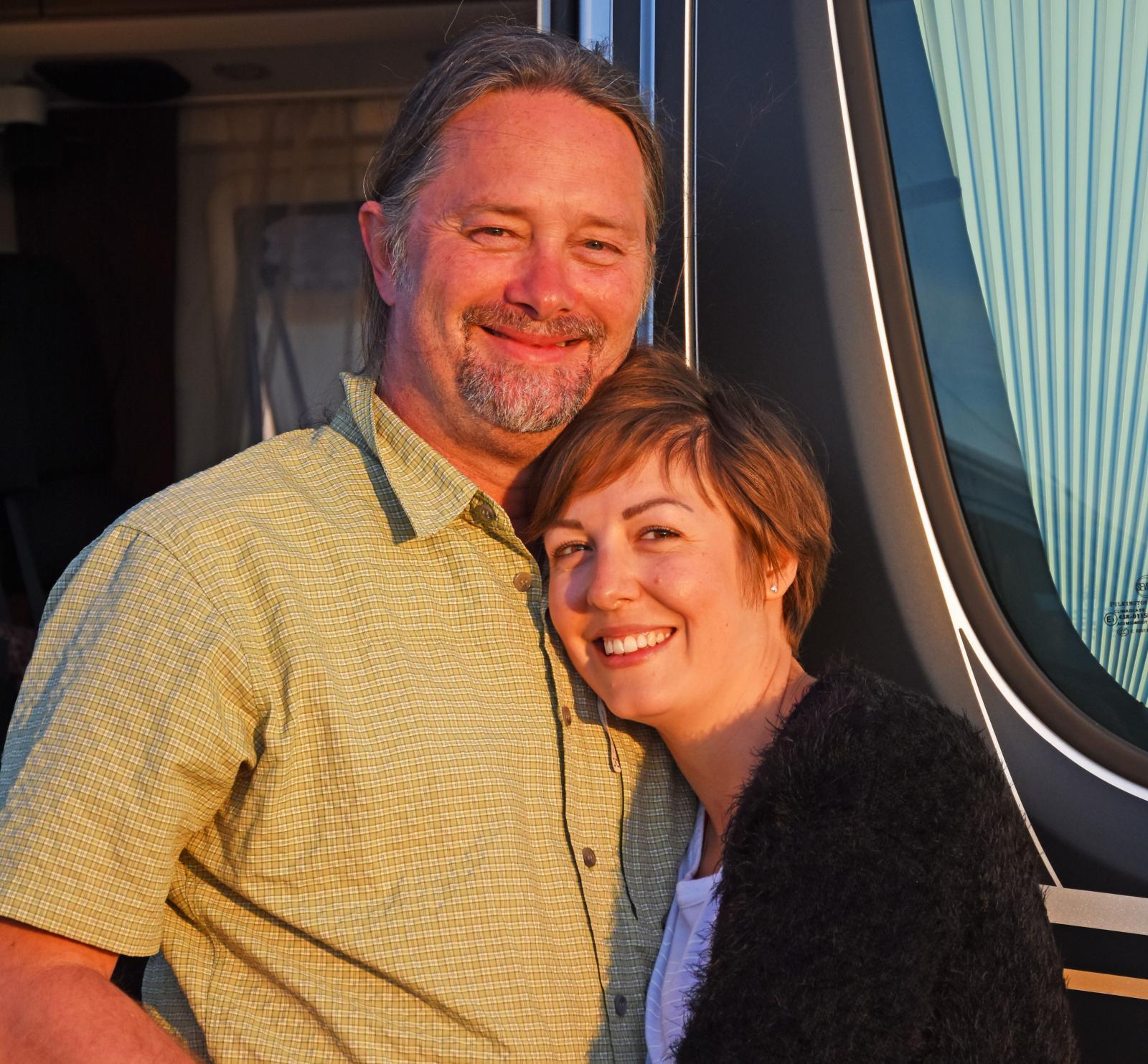 Tina och Bengt tröttnar inte på att leva tätt tillsammans.