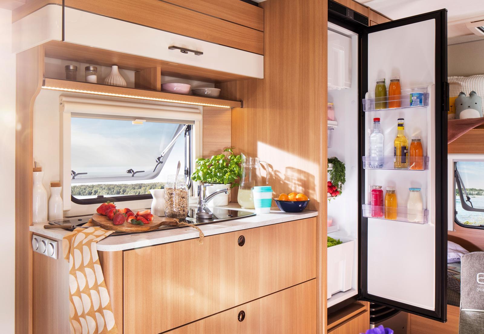 Kompressorkylskåp i jubileumsutgåvan Style 493 K.