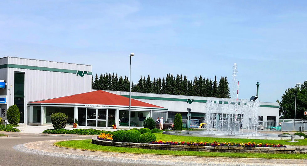 RUF Automobile i Pfaffenhausen är världsberömda för sina trimmade och totalrenoverade Porschar.