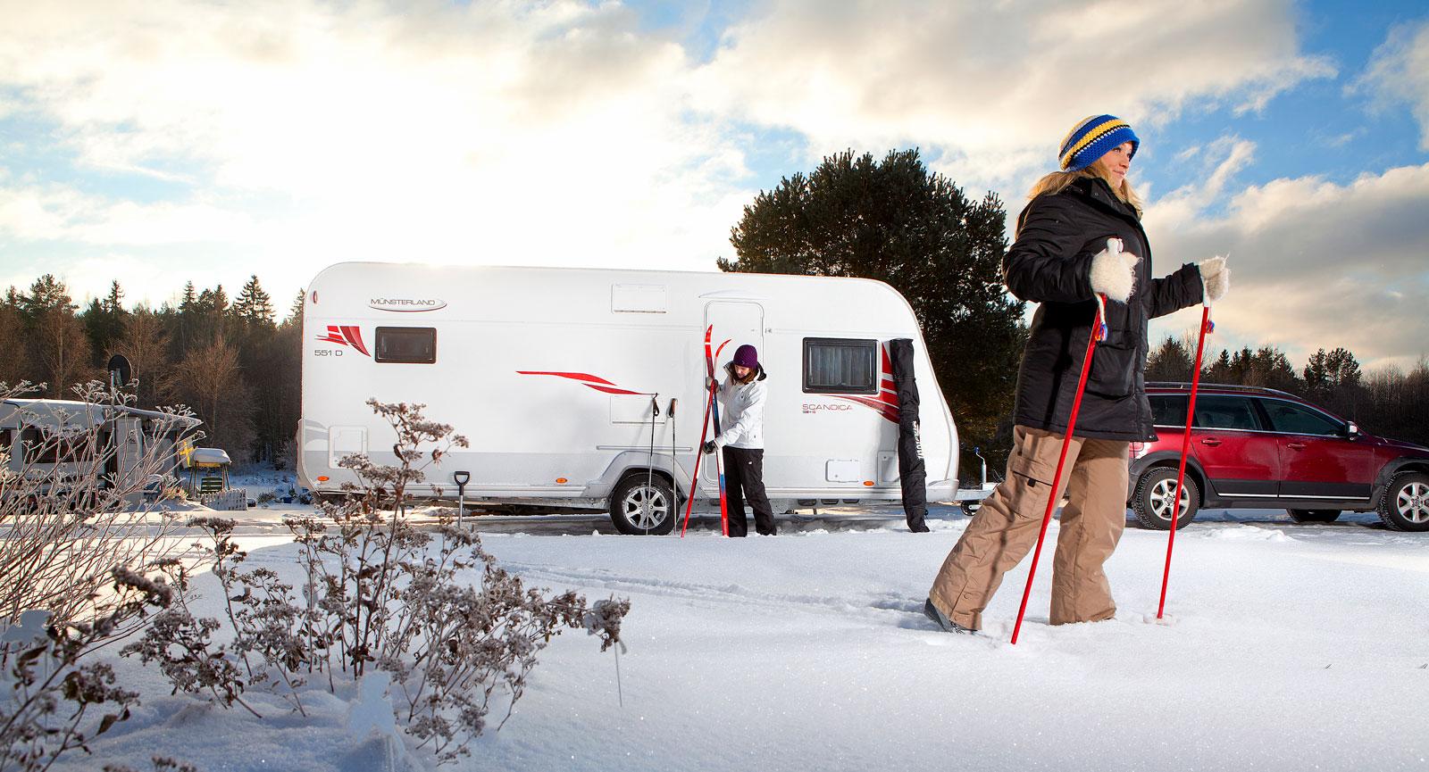 Tips inför vintercamping – Med husbil eller husvagn
