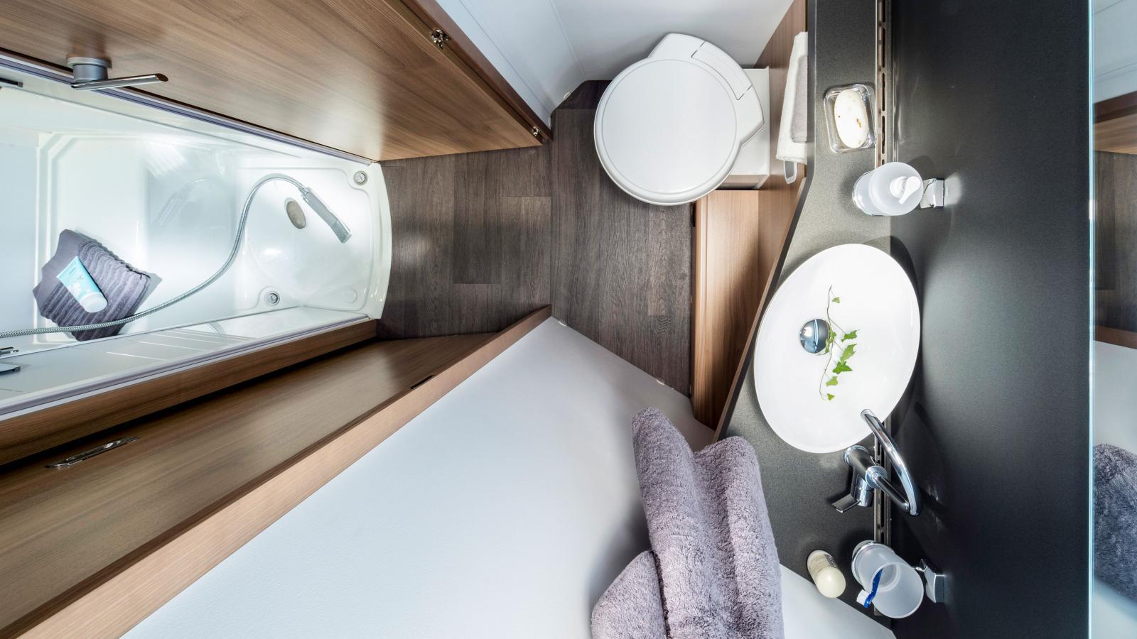Badummen är designade enligt konceptet hemmakänsla.