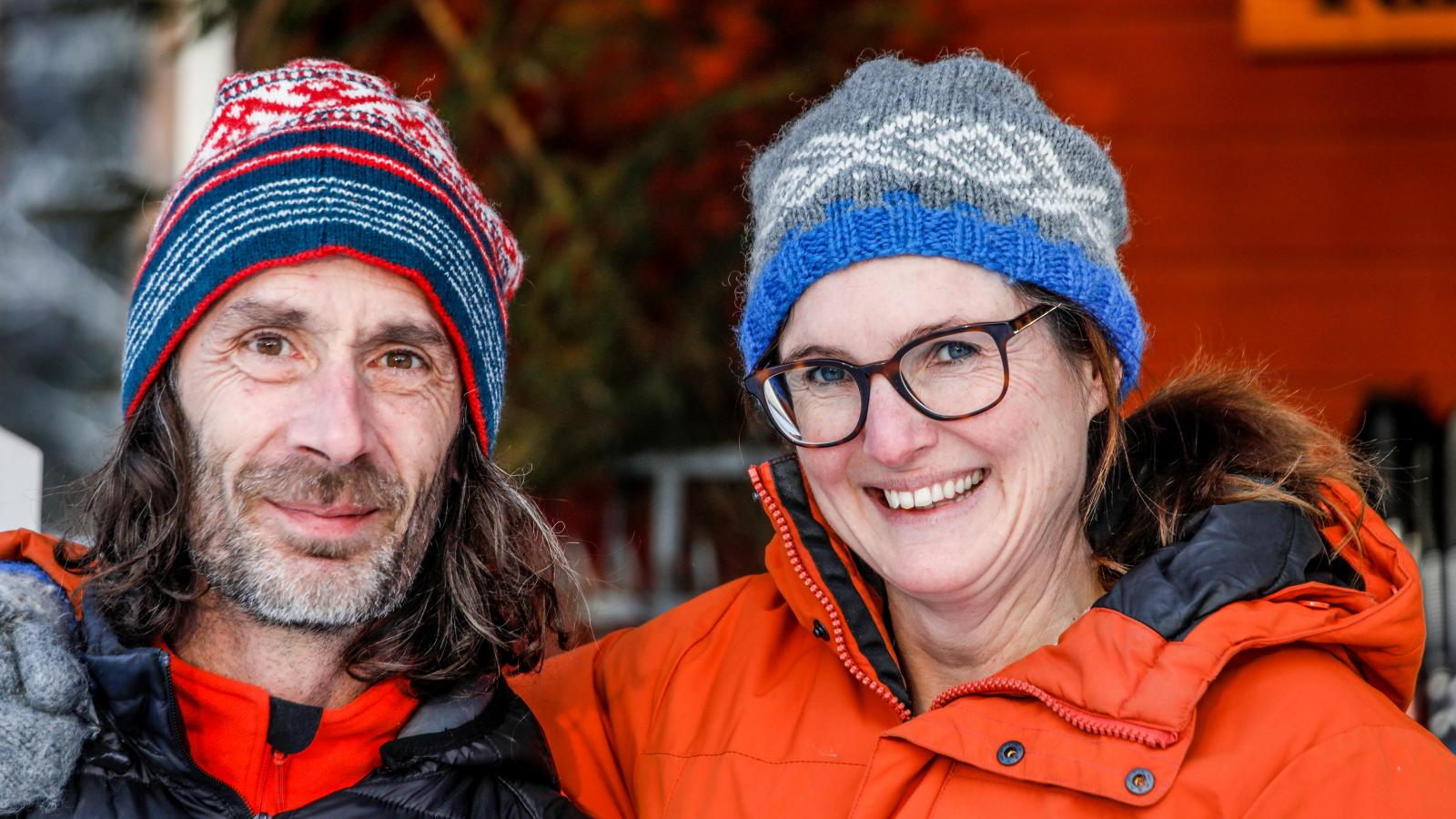 Mireille van Ruiven och Willem Terstegen driver Näsets Marcusgård.