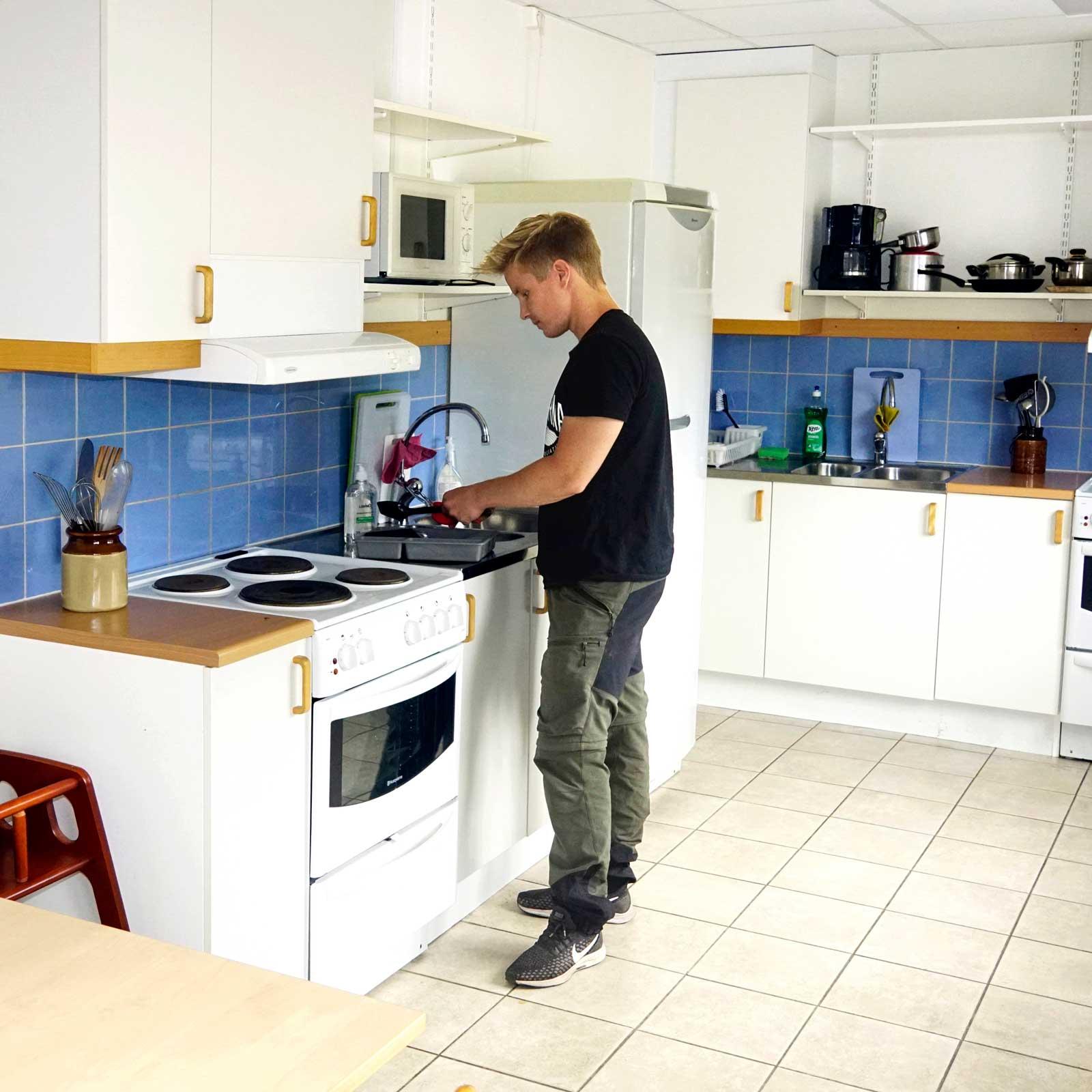 Fräscht och välordnat i köket…