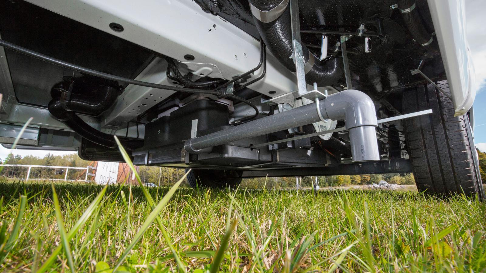 Stor guide till avloppet i husvagnen och husbilen –så funkar färskvatten, gråvatten och svartvatten