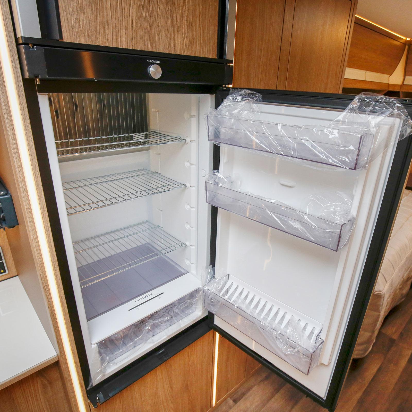 Kylskåpet från Dometic har fått ny design.