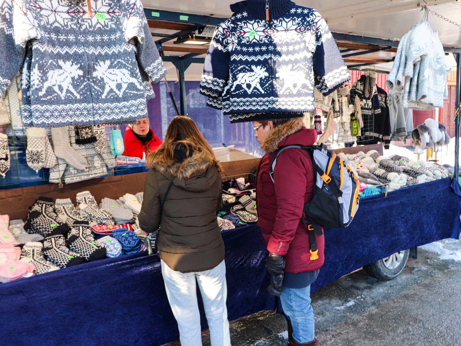 Lusekoftor och Selbuvantar är väldigt populärt, inte bara i Norge.