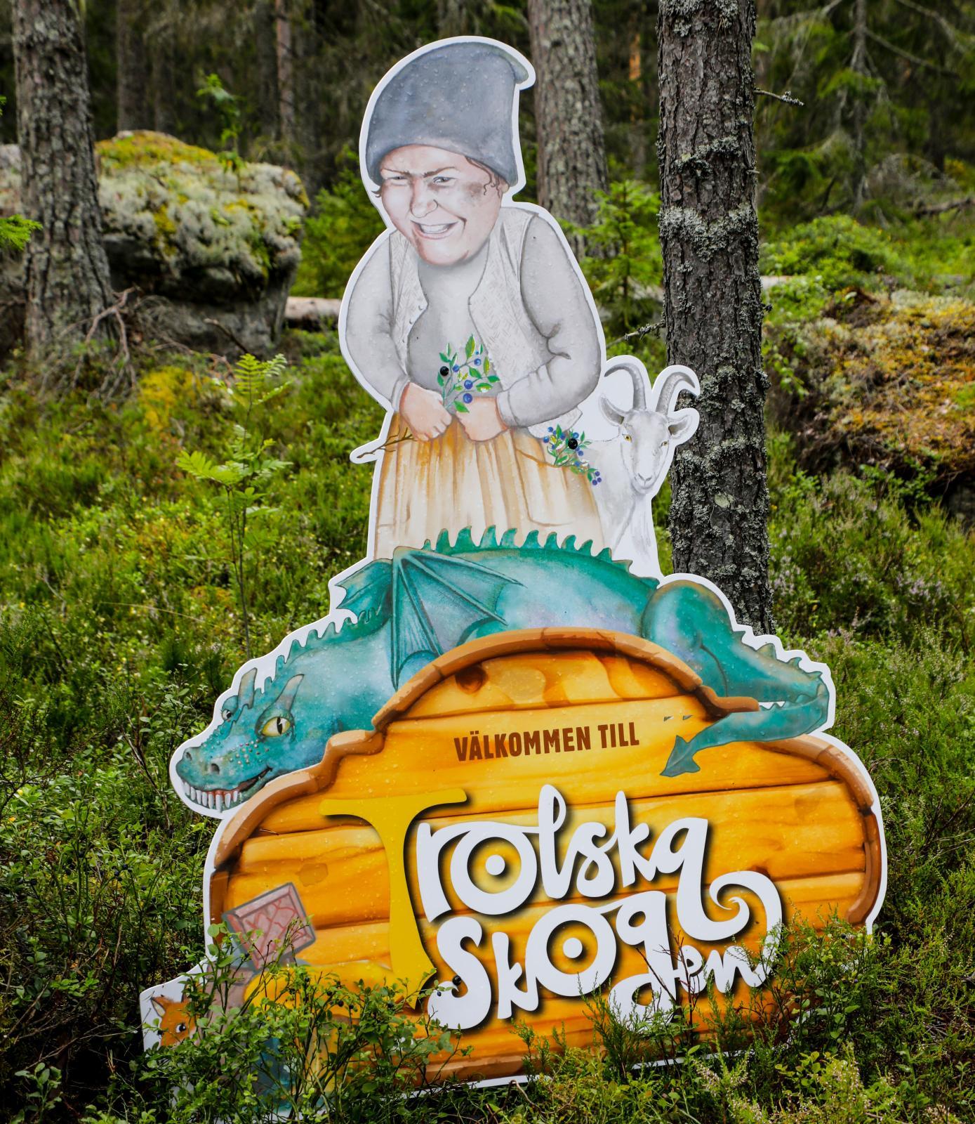 Trolska skogen ger barn – och vuxna – möjlighet att möta troll och häxor.