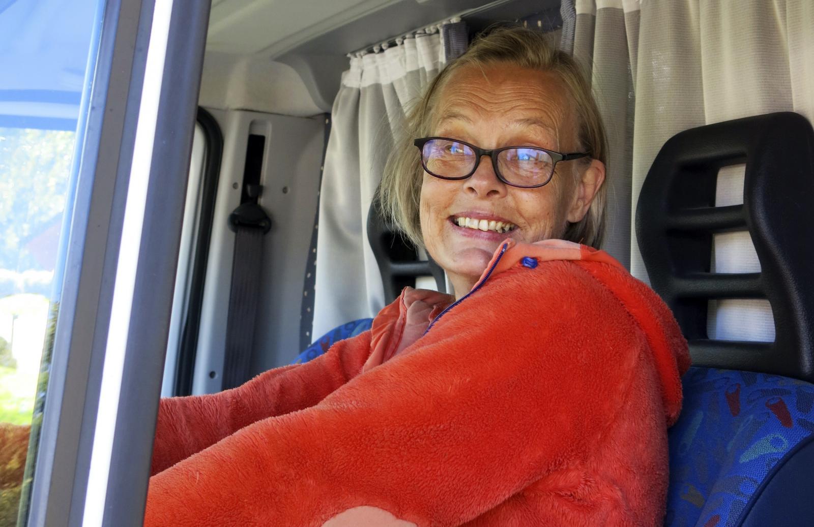 """Annika bor i husbil: """"Oj, vad detta är kul!"""""""