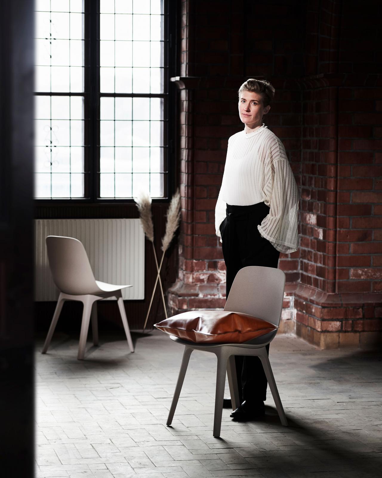 Lisa Edin är fabrikör och ägare på Docksta Sko.