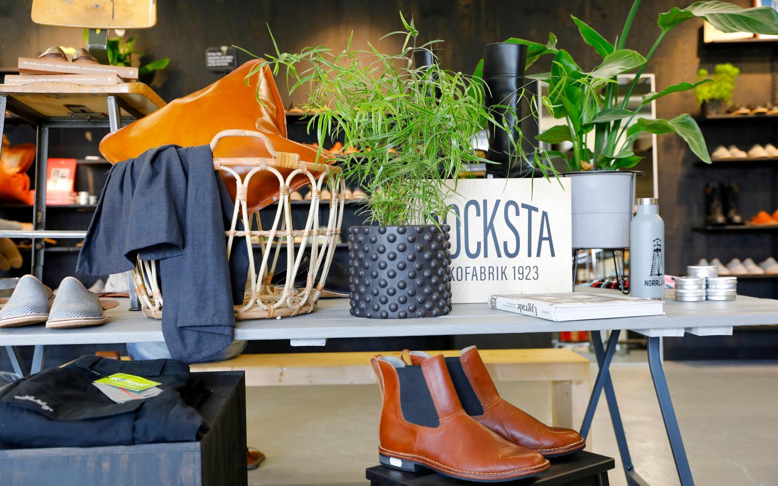 Resa: Docksta Svenska skor