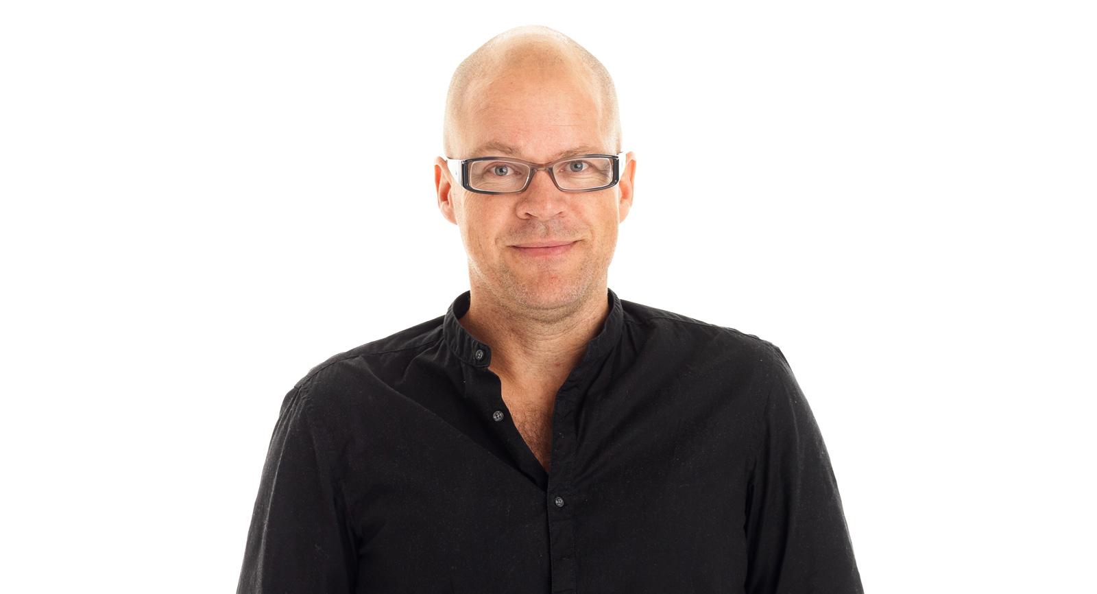 En av grundarna, Öjje Holt.