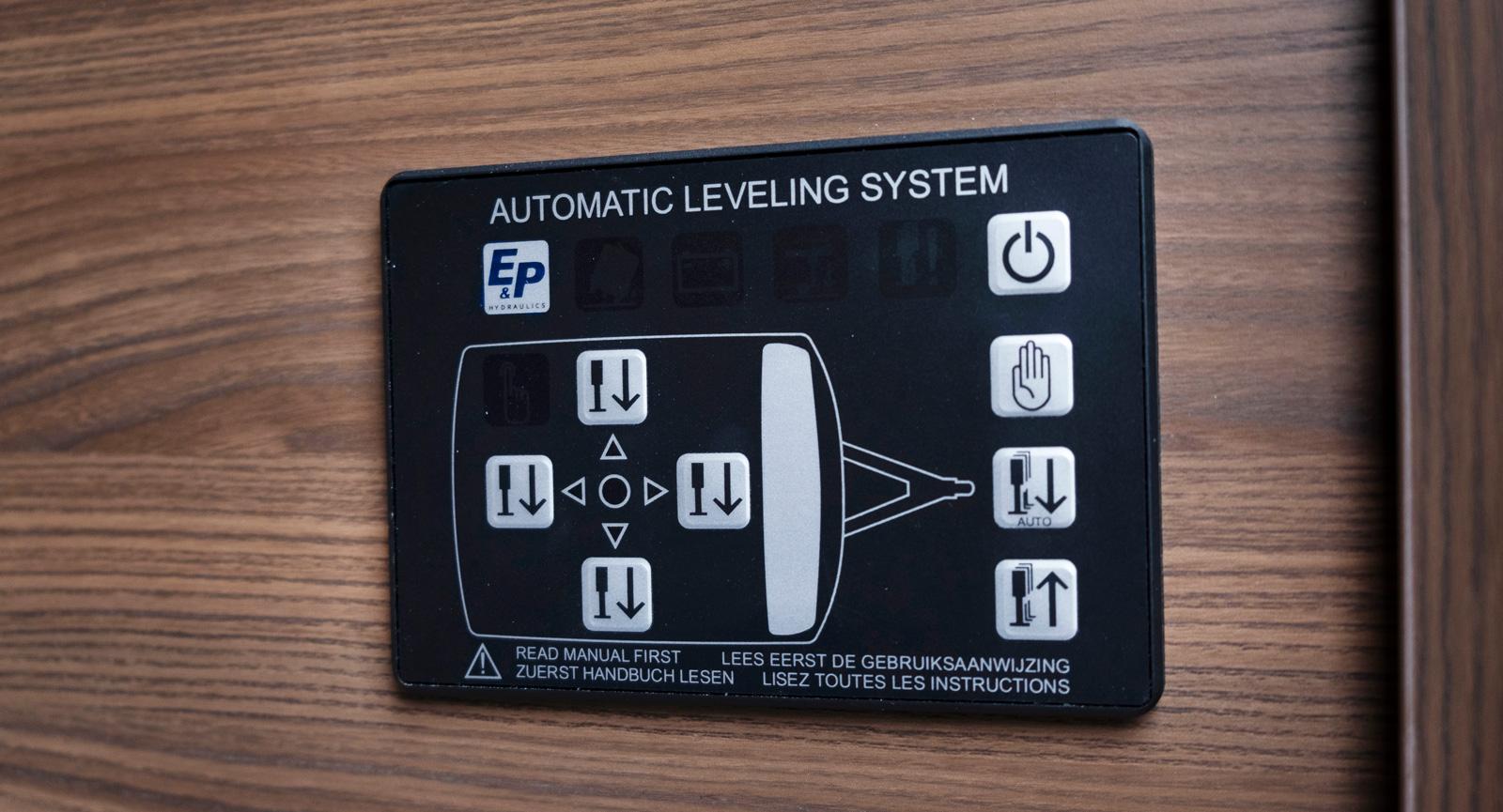 Slipp krånglet med att få vagnen i våg, tryck bara på knappen så är det klart.