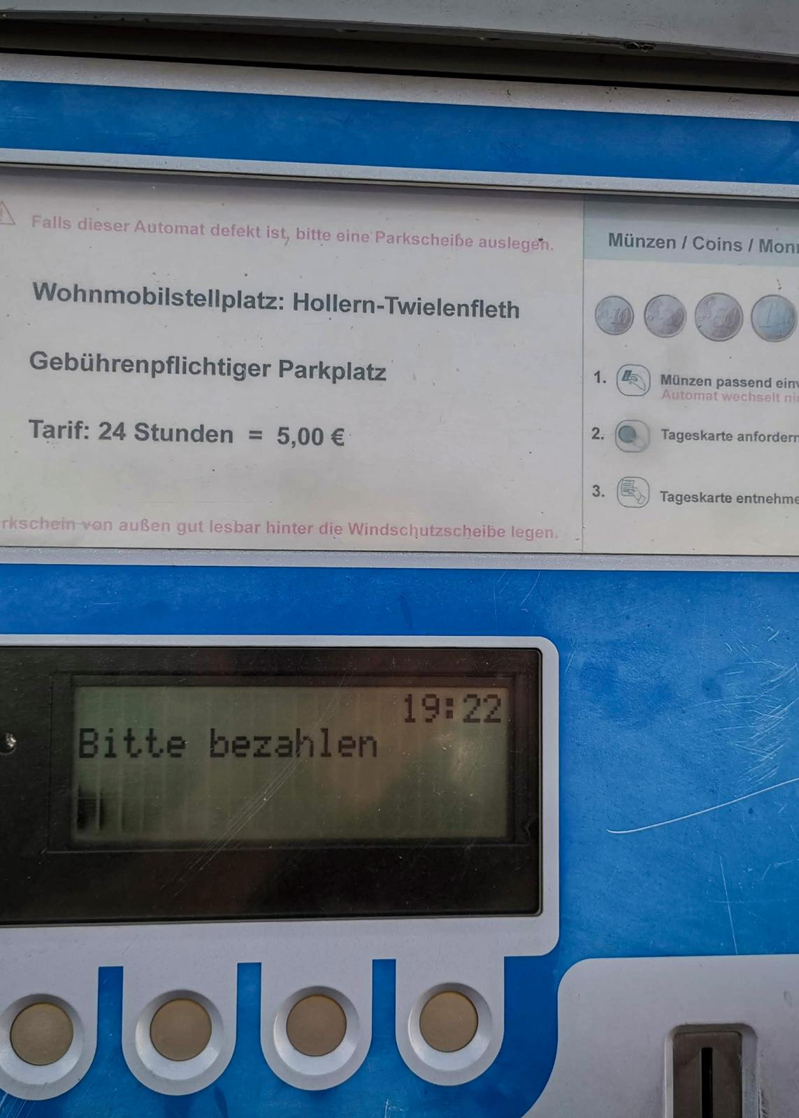 Twielenfleth: Ställplatstips vid floden Elbe i Tyskland